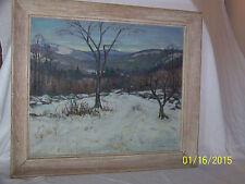 *Bernard Stafford Good*Listed American Artist Original Oil New Hampshire