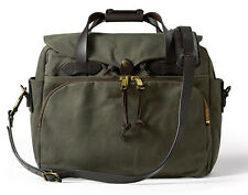 NEW! FILSON PADDED COMPUTER BAG OTTER GREEN #70258  EXPEDITED SHIPPING! FAST!