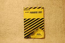 Paradise Lost Book by Milton Cliffs Notes (1963, Paperback) 1970 Cliffsnotes