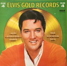 ELVIS PRESLEY - Elvis' Gold Records Volume 4 (LP) (VG-/G-VG)
