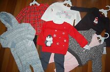 NWT Girls 18m 18 MONTHS CARTER'S 12 Piece Fall Winter Lot CUTE Sets ~ L@@K!
