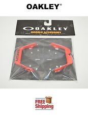 OAKLEY® AIRBRAKE™ MX GOGGLE REPLACEMENT OUTRIGGER STRAP MOUNTS (PAIR) RED NEW