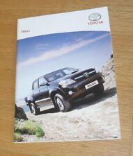 Toyota Hilux Brochure 2007 - Invincible HL3 HL2 3.0 2.5 D4D Double Cab - Hi-Lux