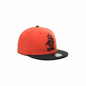Netherlands KNVB Soccer Snapback Flat Peak Hat Officially Licensed Fan Ink
