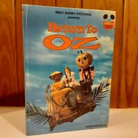 Return To OZ - Hardcover 1st Edition Random House - 1985 Walt Disney - Rare