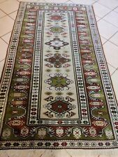 Beautiful Turkish Milas wool hand knotted Oriental carpet rug 204 x 117 cm size
