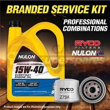 Ryco Oil Filter 5L PM15W40 Engine Oil Service For Ford Honda Crv Hyundai Getz TB