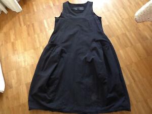 Rundholz Black Label Sweatkleid XL lang schwarz