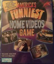 AFV 1990 Parker Brothers America's Funniest Home Videos VHS VCR TV Show Game