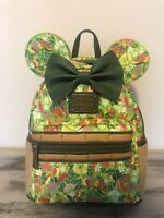 Disney Minnie Mouse The Main Attraction Backpack Loungefly Enchanted Tiki Room