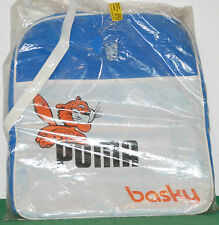 vintage PUMA BASKY bag shoulder borsa zaino scuola sport 80 90 w/germany