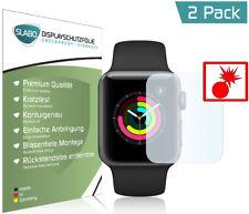"""Slabo Panzerschutzfolie für Apple Watch Series 3 (38mm) (2er Set) """"Shockproof"""""""