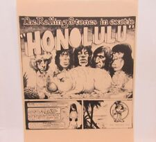 "THE ROLLING STONES IN HONOLULU SPLATTERED MULTI-COLORED VINYL 12"" RECORD ALBUM"