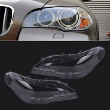 Fit For BMW E70 X5 07-12 xDrive30i 35d 35i Replacement Headlight Lamp Cover Lens