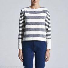 Wrangler Long Sleeve Striped Tops & Blouses for Women