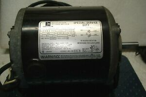 """Emerson   Electric Motor 1/4 H.P.  1725 RPM  1/2 """" Shaft ,Cord & Switch"""