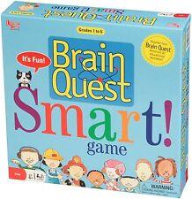BRAIN QUEST SMART! GAME - GRADES 1-6 EDUCATIONAL KIDS CARD GAME UNIVERSITY GAMES