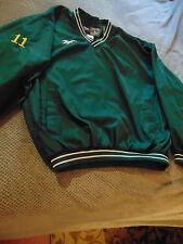 Reebok Green Bay #11 Jarrett Boykin (?)- Flannel Lined Warm-up Pullover ~ Lrg