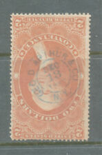 A38 - FIRST ISSUE REVENUE - SCOTT #R81c GEO. D. ARTHUR & CO CANCEL