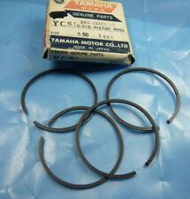 Yamaha ycs1_cs1_1968-71 _ Piston Bagues Anneaux _ _ Rings 2nd O/S _ + 0,50 mm _ Piston _ Piston