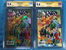 Uncanny X-Men #360 set of 2 - Marvel - CGC SS 9.4 - Signed by Steve Seagle