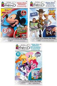 NEW Colorforms Packs | Lot of 3 | Disney Junior Mickey Toy Story My Little Pony