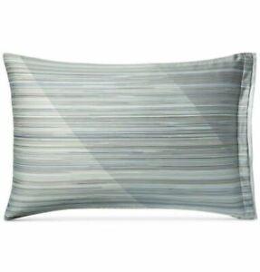 Hotel Collection Diamond Stripe Pima Cotton STANDARD Pillow Sham Set 2pc  $170