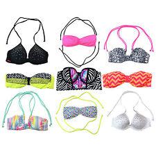 Rosa Bikini Swim Victoria's Secret Superior Traje de Baño Traje de Baño Bling vs Nuevo Nuevo Con Etiquetas