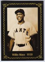 Willie Mays, '50 Trenton Giants minor league card Monarch Corona Century Series
