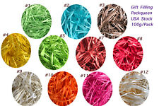 100g/Bag Gift Filling Diy Confetti Party Crinkle Paper Shredded Wedding Supplies
