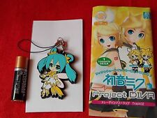 "MIKU HATSUNE VOCALOID Rubber Mascot 2.4"" 6cm / HOBBY STOCK JAPAN / UK DESPATCH"
