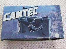 BRAND NEW CAM'TEC 35mm CAMERA FOCUS FREE FILM CAMERA PC-606. NIB (FLO)