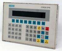 Siemens 6AV3515-1EK30-1AA0 COROS SIMATIC OP15 OP 15-A1 VF Operator Panel