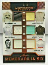 Muhammad Ali/Holmes/Nicklas/Palmer/Arthur Ashe/Pele 2019 Leaf Ultimate Patch /25