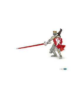 PAPO 39386 Red Dragon King Knight toy Knights Medieval figure history castles