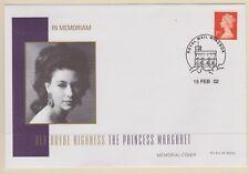 2002 Princess Margaret Memorial Covers x 5