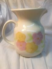 Franciscan Garden Party Water Pitcher 32 Oz. Earthenware Floral