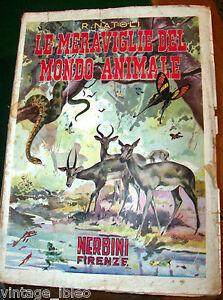Le Maravillas De Mundo Animal Por R. Natoli - Ed.nerbini 1949