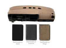 Faux SUEDE Dash Cover Custom Fit - Most Models & Years - 3 Colors S1VAR