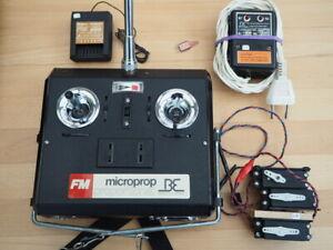 Microprop FM-Anlage, 35 MHz, funktioniert