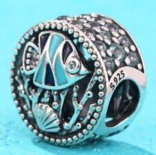 MIXED ENAMEL LIFE in the OCEAN 925 Sterling Silver European Charm Bead