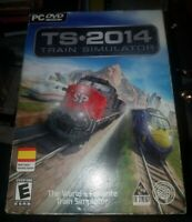 Tri Synergy Train Simulator 2014 - (PC DVD-ROM) New and Sealed*