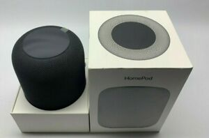 Apple HomePod Voice Enabled Smart Assistant - Space Gray A1639 (MQHW2LL/A)