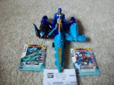 Power Rangers Megaforce Sea Brothers Zord Vehicle and Blue Ranger