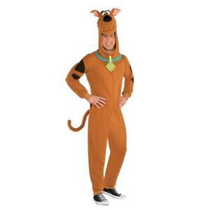 ADULTS BROWN SCOOBY DOO MENS BOOK WEEK CARTOON DOG CHARACTER FANCY DRESS COSTUME