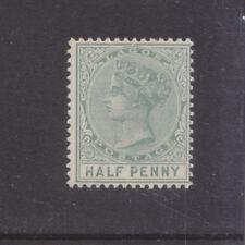 LAGOS-1884-QV 1/2d DULL GREEN-SG 21-W/M CCA-M/H REMN-$6-freepost