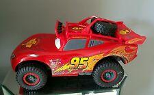 Disney Pixar Cars Talking Lightning McQueen Off Road Rally Car Sounds VGC
