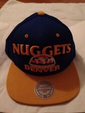 Denver Nuggets Mitchel And Ness Hat Adjustable Fit