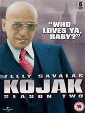 KOJAK COMPLETE SERIES 2 DVD Second Season Telly Savalas Dan Frazer Kevin UK New