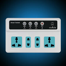 3 Sockets Remote Control Wireless Mobile Phone GSM SIM Smart Socket Switch ~#SG